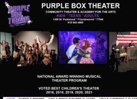 thepurpleboxtheater.com