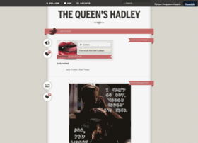 thequeenshadely.tumblr.com