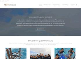 Thequestinstitute.com
