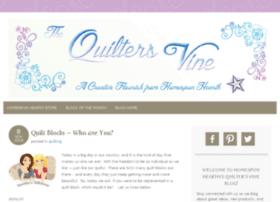 thequiltersvine.com