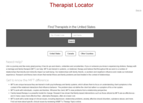 therapistlocator.net