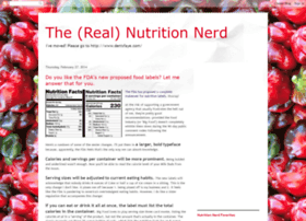 therealnutritionnerd.blogspot.com