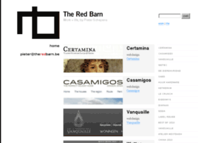 theredbarn.be