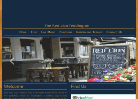 theredlionteddington.com