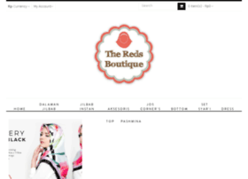 theredsboutique.com
