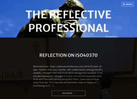 thereflectiveprofessional.wordpress.com