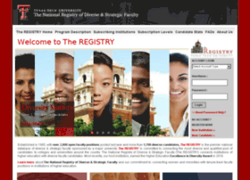 theregistry.ttu.edu