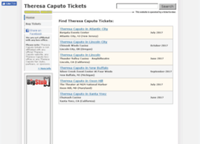 theresacaputotickets.net