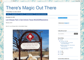 theresmagicoutthere.blogspot.com