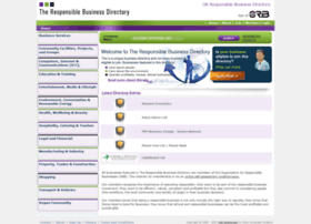 theresponsiblebusinessdirectory.co.uk