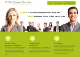 theresumespecialists.com