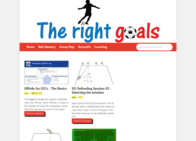 therightgoals.com