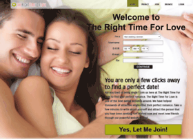 therighttimeforlove.com