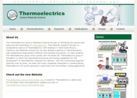 thermoelectrics.caltech.edu