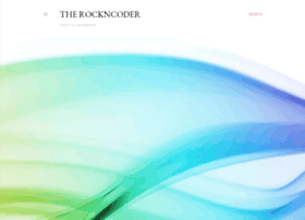 therockncoder.blogspot.co.uk