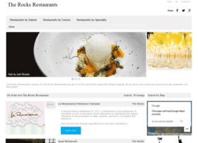 therocksrestaurants.com.au