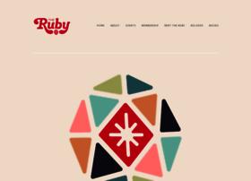 therubysf.com