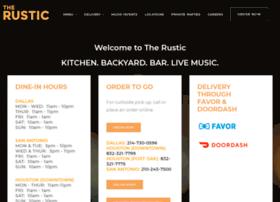 therusticrestaurant.com