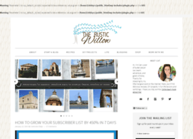 therusticwillow.com