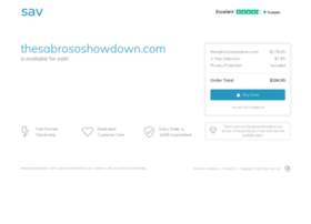 thesabrososhowdown.com