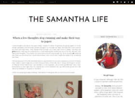 thesamanthalife.com