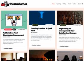 thesambarnes.com