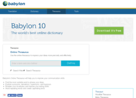 thesaurus.babylon.com