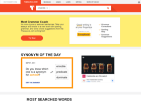 thesaurus.reference.com
