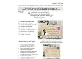 thesavethedatepeople.com