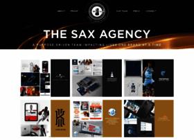 thesaxagency.com