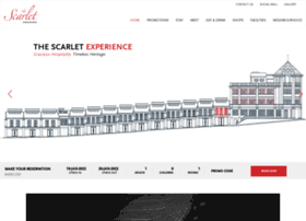 thescarlethotel.com