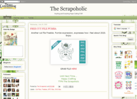 thescrapoholic.blogspot.be