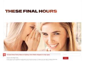 thesefinalhours.com.au