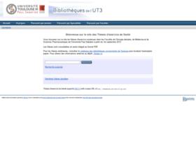 thesesante.ups-tlse.fr