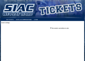 thesiactickets.universitytickets.com