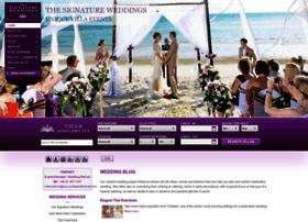 thesignatureweddings.com