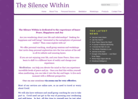 thesilencewithin.com