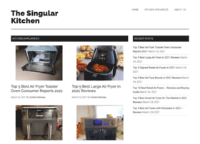 thesingularkitchen.com