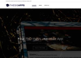 thesisapps.com