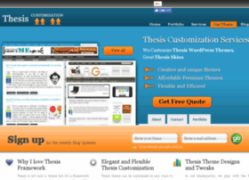 Thesiscustomizationservice.com