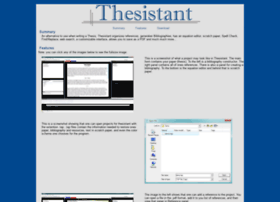 thesistant.sourceforge.net
