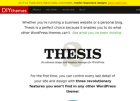 thesisthemeforwordpress.com