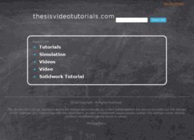 thesisvideotutorials.com