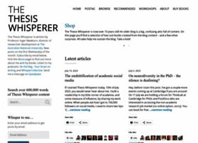 thesiswhisperer.com