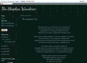 thesleeplesswanderer.blogspot.co.uk