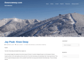 thesnowway.com