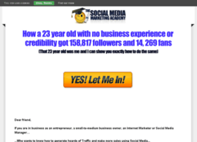 thesocialmediamarketingacademy.com