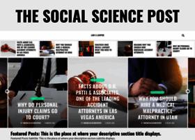 thesocialsciencepost.com