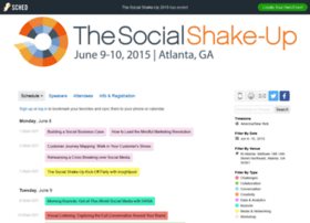 thesocialshakeup2015.sched.org