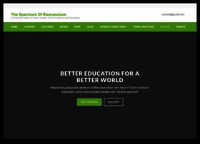 thespectrumofriemannium.com